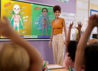 Samsung Flip Education skola